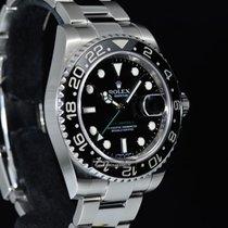 Rolex GMT-MASTER II 116710LN Ghiera Ceramica - NUOVO