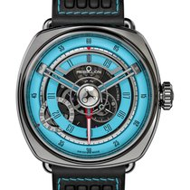 Rebellion new Automatic 46.95mm Steel Sapphire Glass