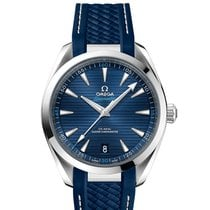 Omega Seamaster Aqua Terra Steel 41mm Blue No numerals United States of America, Iowa, Des Moines
