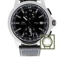 IWC Ingenieur Chronograph Sport Steel Automatic Black Dial...