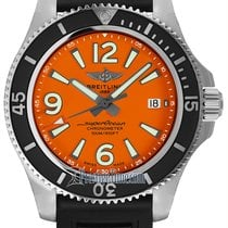 Breitling Superocean 42 Steel 42mm Orange United States of America, New York, Airmont
