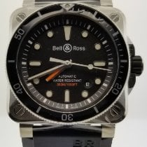 Bell & Ross BR 03-92 Steel Steel 42mm Black No numerals United States of America, Florida, Miami