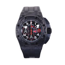 Audemars Piguet Royal Oak Offshore Chronograph Carbone 44mm Noir Arabes