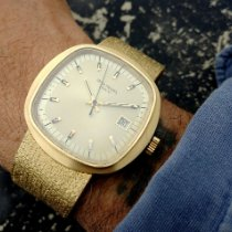 Patek Philippe Beta 21 Yellow gold 43mm Gold No numerals