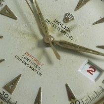 Rolex Bubble Back Oro giallo 36mm Bianco Senza numeri Italia, Napoli - San Giorgio Cremano