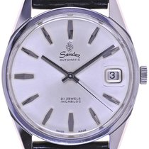 Sandoz Fils Mans Automatic Wristwatch 21 Jewels