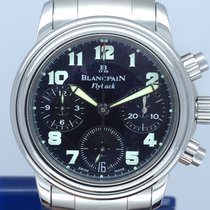 Blancpain Léman Fly-Back 2385F-1130-71 Very good Steel 34mm Automatic