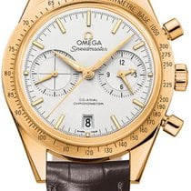 Omega Yellow gold Automatic 41.5mm new Speedmaster '57