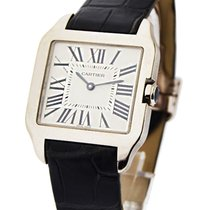 Cartier W2009451 Santos Dumont - Small Size in White Gold - on...