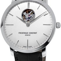 Frederique Constant Slimline Heart Beat Automatic Steel White United States of America, New York, Brooklyn