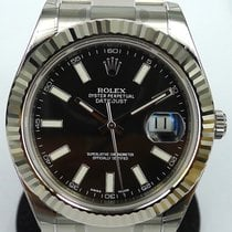 Rolex Datejust 2 II 41mm  Black Steel New Watch