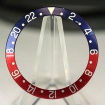Rolex Inlay für GMT 1675 / 16750 blau rot, blue back, mit fat...