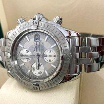 百年靈 (Breitling) Chronomat Evolution  Pilot Steel Grey Dial 44...