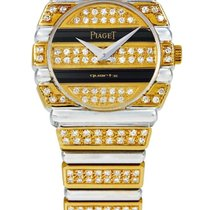 Piaget | A Lady's Yellow And White Gold, Onyx And Diamond-...