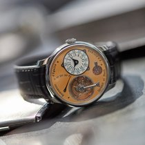 F.P.Journe STEEL Tourbillon Souverain 38 mm LE