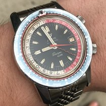 Enicar 43mm Automatic 1969 pre-owned Sherpa Black