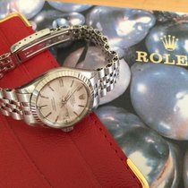 Rolex Oyster Perpetual Datejust-All 18K white gold-never polished