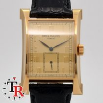 Patek Philippe Pagoda Yellow gold Champagne Roman numerals