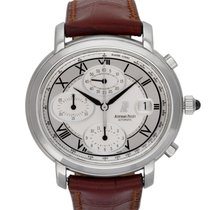 Audemars Piguet Steel Automatic White 40mm pre-owned Millenary Chronograph