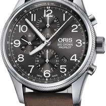 Oris Big Crown ProPilot Chronograph Steel 44mm Grey Arabic numerals United States of America, Texas, FRISCO