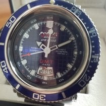 Formex Bullhead GMT Blue Dial Full Set DS2000 Patented Design