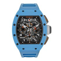 Richard Mille Felipe Massa Chronograph Baby Blue Ceramic Last...