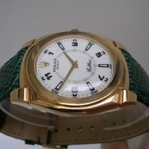 Rolex Cellini (Submodel) pre-owned 36mm Yellow gold