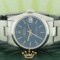 Rolex Datejust Midsize 31MM Blue Dial Smooth Bezel Oyster...