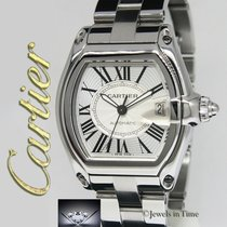 Cartier Roadster pre-owned 44mm Steel