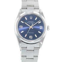 Rolex Oyster Perpetual 34 Steel 34mm Blue