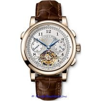 A. Lange & Söhne Tourbograph Yellow gold 41mm Silver United States of America, California, Newport Beach