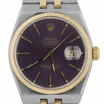 Rolex Datejust Oysterquartz Gold/Steel 36mm Purple United States of America, New York, Lynbrook