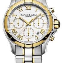 Raymond Weil Gold/Steel 42mm Automatic 7260-sg-00308 new