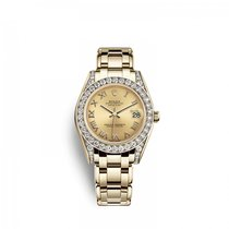 Rolex Pearlmaster Yellow gold 34mm Champagne United States of America, Florida, Miami