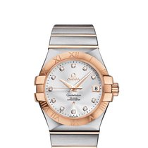 Omega Constellation Ladies new 2019 Automatic Watch with original box and original papers 123.20.35.20.52.001