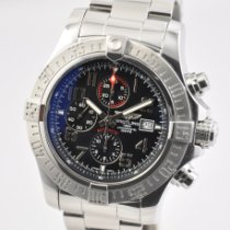 Breitling Super Avenger II Steel 48mm Black No numerals United States of America, Ohio, Mason