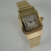 Cabestan Yellow gold 24mm Quartz pre-owned