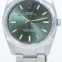 Rolex Oyster Perpetual 34 Steel 34mm Green Arabic numerals United States of America, Georgia, ATLANTA
