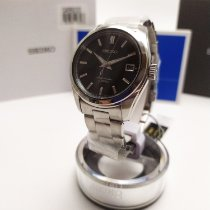 Seiko Spirit Steel 38mm Black No numerals