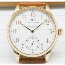 IWC Portuguese Hand-Wound Red gold 43mm White