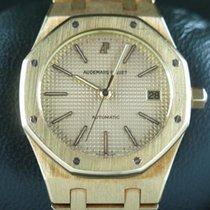 Audemars Piguet Royal Oak Jumbo Жёлтое золото 37mm Золото Без цифр
