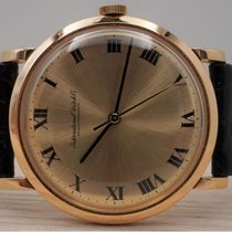 IWC Very good Rose gold 36mm Manual winding