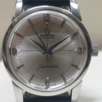 Omega pre-owned Automatic 35mm Silver Plexiglass