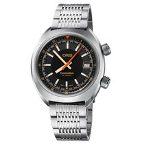 Oris Chronoris Acero 39mm Negro