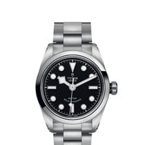 Tudor Black Bay 32 Steel 32mm Black No numerals
