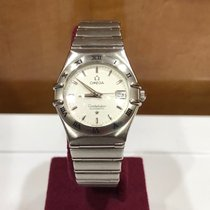 Omega Constellation Ladies Acier Blanc