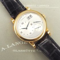 A. Lange & Söhne Lange 1 Yellow gold Silver Roman numerals