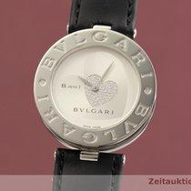 Bulgari B.Zero1 używany 35mm Srebrny Skóra wołowa
