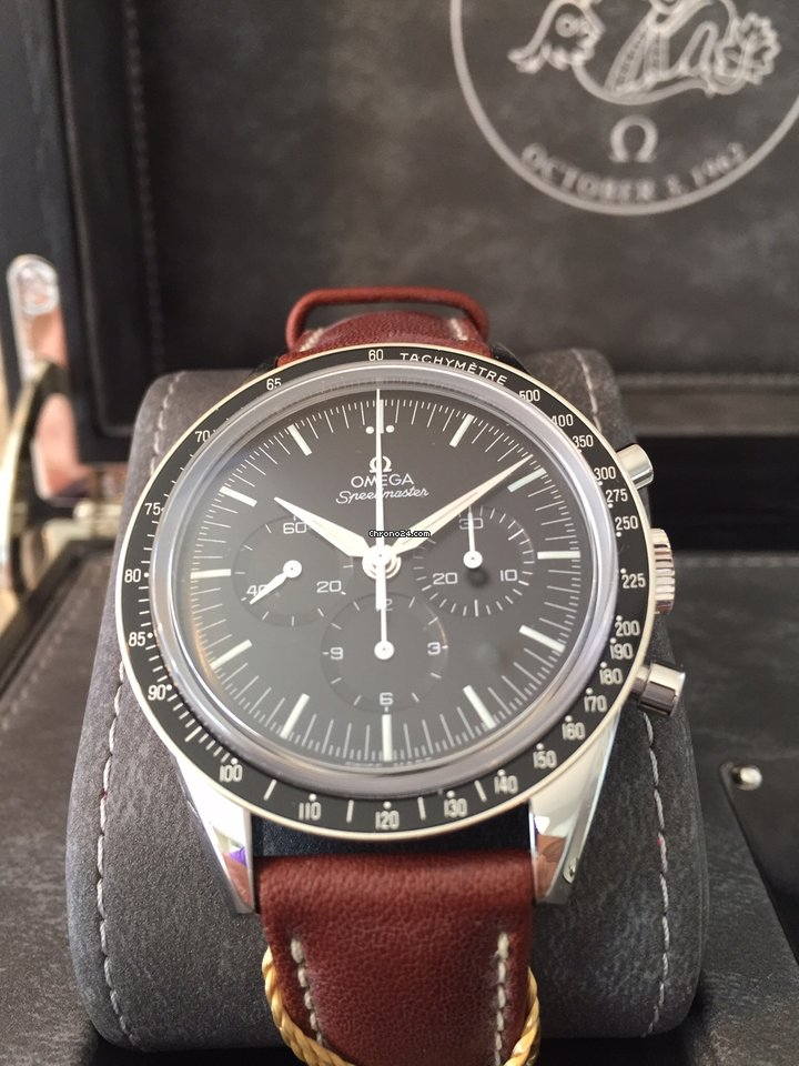 Omega Speedmaster Moonwatch First in Space Numbered ...