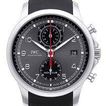 IWC Portugieser Yacht Club Chronograph Stahl 43,5mm Grau Arabisch Deutschland, Bietigheim-Bissingen